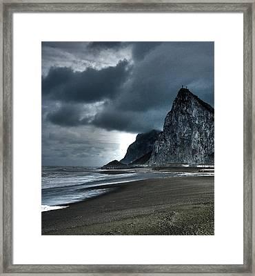 The Rock ... Framed Print