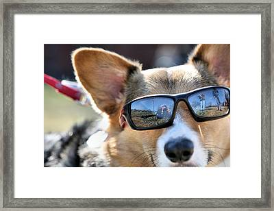 The Rock Star Framed Print by JC Findley