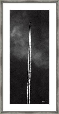 The Rockets Red Glare Framed Print