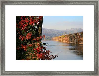 The Rockville In Autumn Framed Print