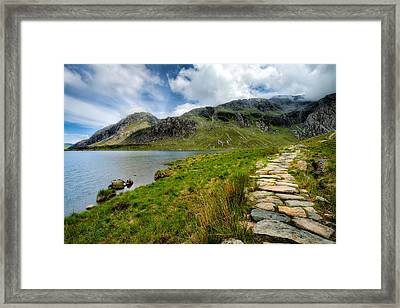 The Rocky Path Framed Print by Adrian Evans