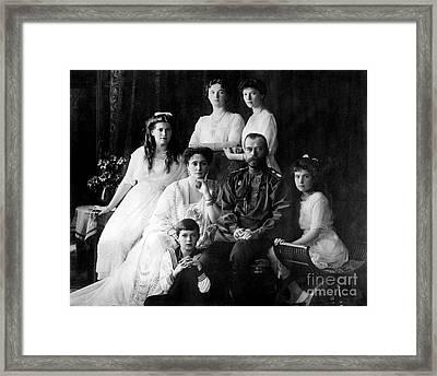 The Romanovs, Last Royal Family Framed Print