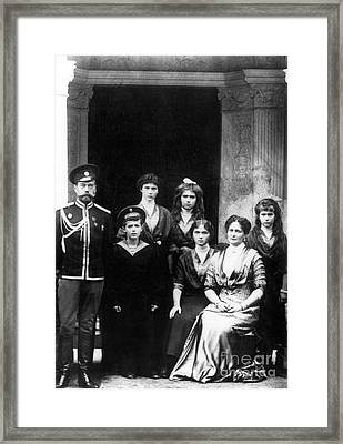 The Romanovs Framed Print by Science Source