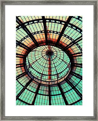 The Roof Framed Print by Andreia Gomes