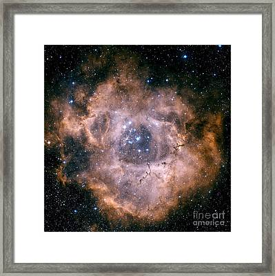 The Rosette Nebula Framed Print by Charles Shahar