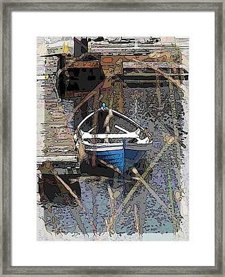 The Rowboat Framed Print by Tim Allen