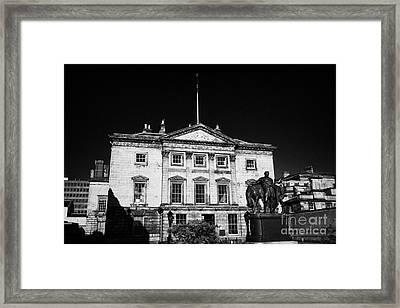 The Royal Bank Of Scotland Edinburgh Scotland Uk United Kingdom Framed Print by Joe Fox