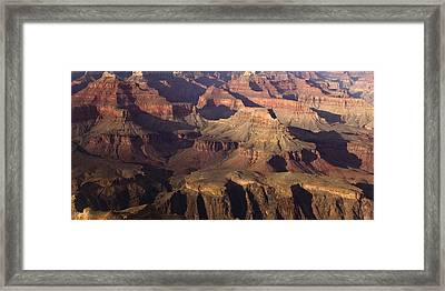 The Rugged Grand Canyon Framed Print by Andrew Soundarajan