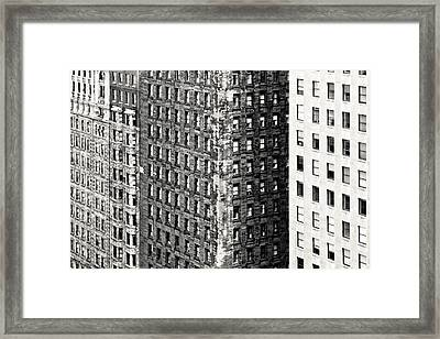 The Rugged Skyscrapers Of Philadelphia Framed Print by Tyler Finck www.sursly.com