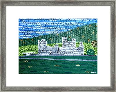 The Ruins Of Fore Abbey Framed Print