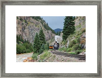 The S Curve Framed Print by Ken Smith