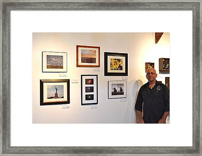 The Salon Exhibit 2 Framed Print by Artie Wallace