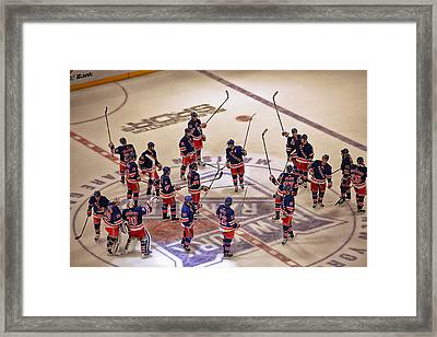 The Salute Framed Print by Karol Livote