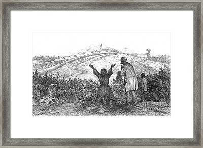 The Sanctuary, 1876 Framed Print by Photo Researchers