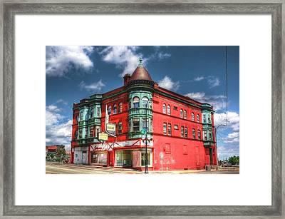 The Sauter Building Framed Print by Dan Stone