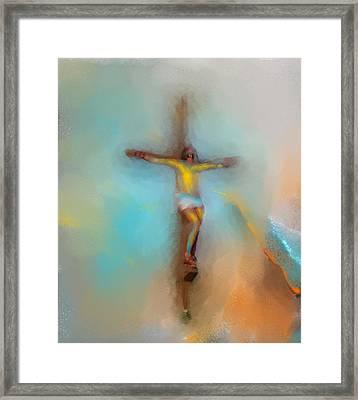 The Savior Framed Print