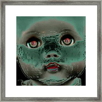 The Scariest Thing Framed Print by James Temple