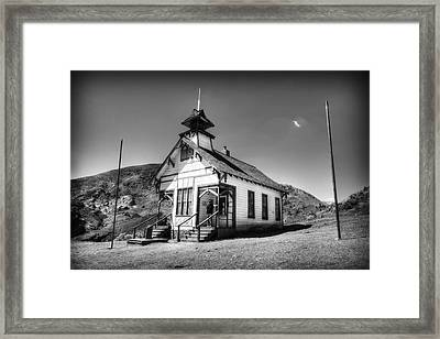 The School House 2 Framed Print by Jessica Velasco