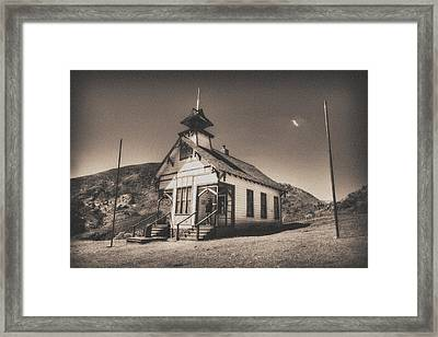 The School House 3 Framed Print by Jessica Velasco