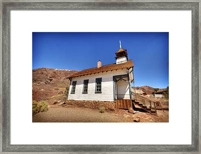 The School House 4 Framed Print by Jessica Velasco
