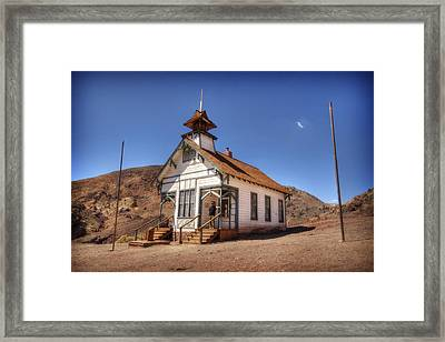 The School House Framed Print by Jessica Velasco
