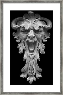 The Scream Framed Print by Christine Till