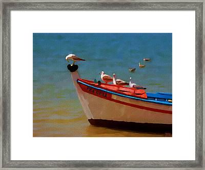 The Sea Gulls Framed Print