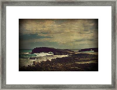The Sea Framed Print by Laurie Search