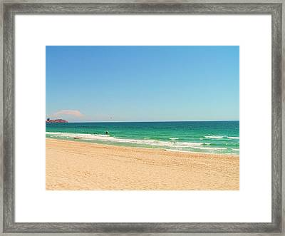 Framed Print featuring the photograph The Sea Of Cortez by Rand Swift