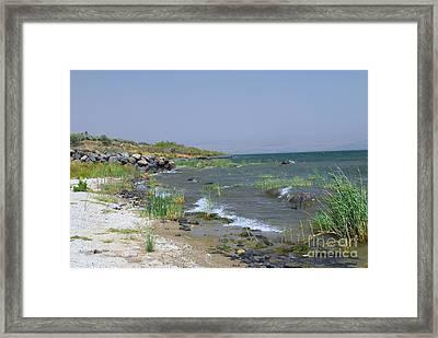 The Sea Of Galilee Framed Print by Eva Kaufman