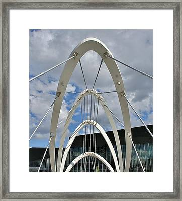 The Seafarers Bridge Structure Framed Print