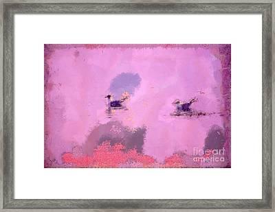 The Seagulls Framed Print by Odon Czintos