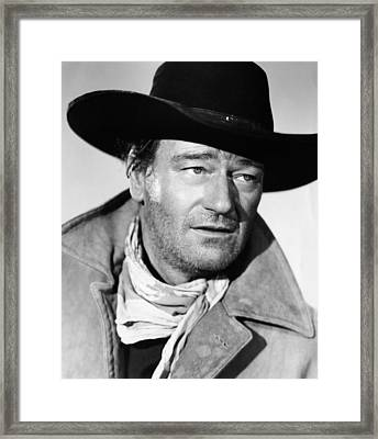 The Searchers, John Wayne, 1956 Framed Print