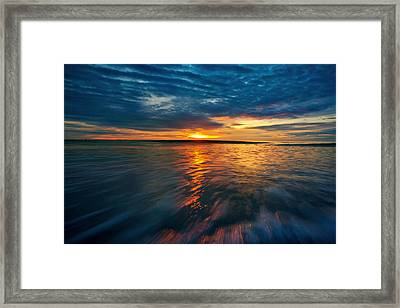 The Seascape Huahin Thailand Framed Print by Arthit Somsakul