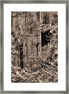 The Secret Door Framed Print by JC Findley