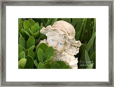 The Secret Garden Framed Print by Andee Design