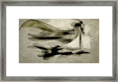 Framed Print featuring the digital art The Sentinel by Jean Moore