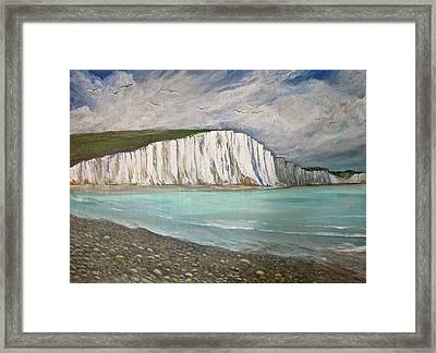 The Seven Sisters Framed Print by Heather Matthews
