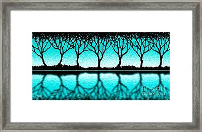 The Seven Trees Framed Print by Cristophers Dream Artistry