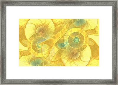The Seven Veils Framed Print by Georgiana Romanovna