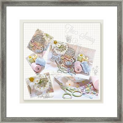 The Sewing Box Framed Print