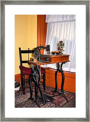 The Sewing Room Framed Print by Kristin Elmquist