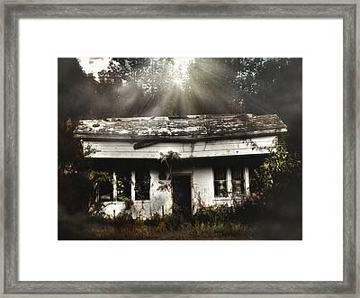 The Shack Framed Print by Jessica Brawley