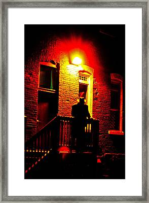 Framed Print featuring the photograph The Shadow by Randall  Cogle