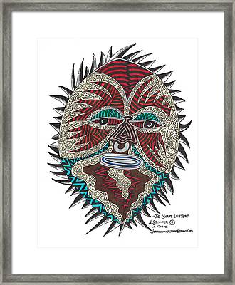 The Shape Shifter Framed Print by Jerry Conner