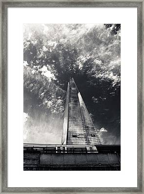 The Shard And London Bridge Framed Print