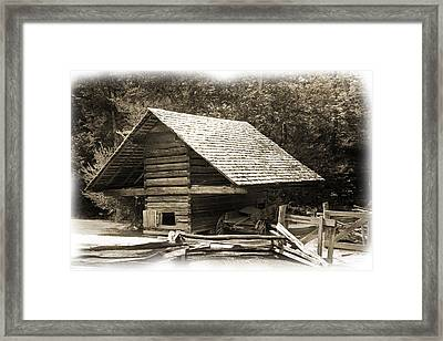 The Shed Framed Print by Barry Jones