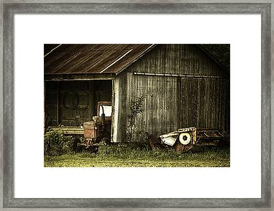 The Shed Framed Print