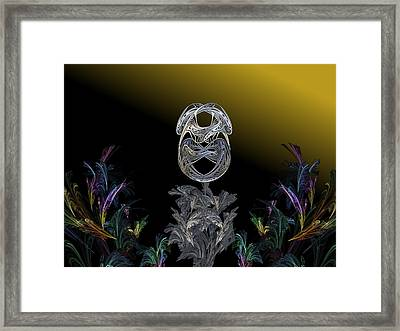 The Shell Gold Framed Print by Ricky Kendall