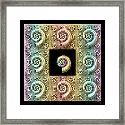The Shell Framed Print by Manny Lorenzo